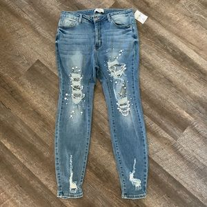 Forever 21 Pearl jeans